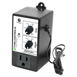 Titan Controls Titan Controls® Zephyr™ 1 - Day/Night Temperature Controller