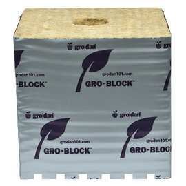 "Grodan Case Qty. Grodan Gro-Blocks Hugo, 6""x6""x6"",  single"