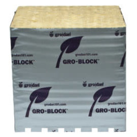 "Grodan Grodan Gro-Blocks Big Mama, 8"" x 8"" x 8"" , 18 Case single"