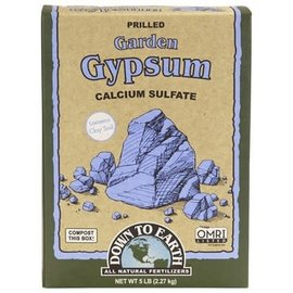 Down To Earth Down to Earth Gypsum OMRI - 5lb