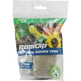 LUSTER LEAF RAPICLIP 200' HEAVY DUTY 3PLY NATURAL TWINE