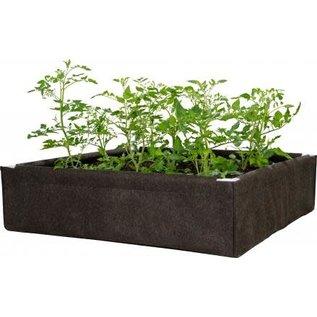 Hydrofarm Dirt Pot Box, 4' x 4' Raised Bed