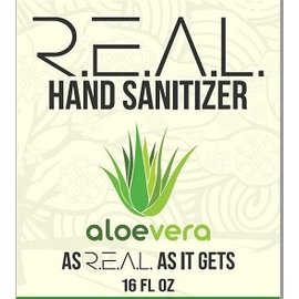 R.E.A.L. REAL Hand Sanitizer 16oz