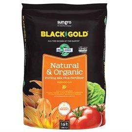 Sun Gro Black Gold Natural & Organic Potting Mix 1CU FT