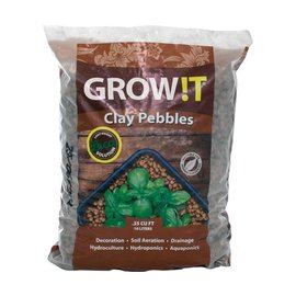 GROW!T GROWIT Clay Pebbles, 10 L