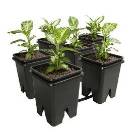 """Active Aqua Active Aqua Grow Flow 5-Gal Expansion Kit 3/4"""" 6 pot, 5 Gal"""