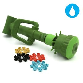 FloraFlex FloraFlex Quick Disconnect Pipe System Multi Flow Bubbler 3/4 in Tee