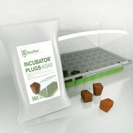 FloraFlex FloraFlex Incubator Kit- Incubator & 40/40 Plugs 50 pack