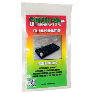 The Green Pad Green Pad Jr CO2 Generator Contains 10 Pads