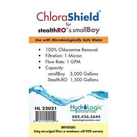 HydroLogic Hydrologic  Stealth RO & Small Boy ChloraShield Filter