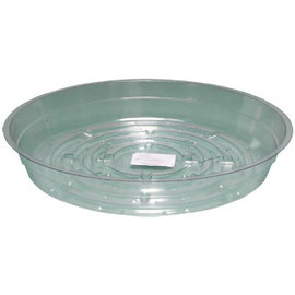 Hydrofarm Clear 6 inch Saucer, pack of 25