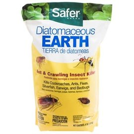 Safer Safer® Brand Diatomaceous Earth - Bed Bug, Flea, Ant, Crawling Insect Killer 4lb