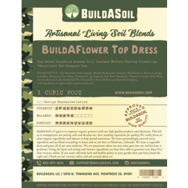 Build A Soil BuildASoil Build A Flower Top Dress 2 Gallon