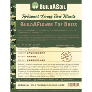Build A Soil BuildASoil Build A Flower Top Dress 2 Gallon
