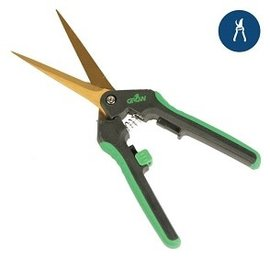 Grow1 Grow1 Titanium Trimming Shears, 3 1/4'' Straight Blade scissors