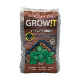 GROW!T GROWIT Clay Pebbles, 25 L
