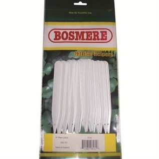 Bosmere Bosmere® Plastic Plant Labels 6in - White - 25pk