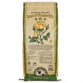 Down To Earth Down To Earth Rose & Flower 4-8-4 25 Lb