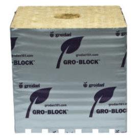 """Grodan Grodan Gro-Blocks Hugo, 6""""x6""""x6"""",  single"""