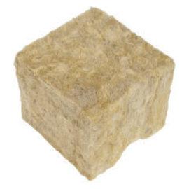 "Grodan GRODAN GRO-BLOCKS Delta 4, 3"" x 3"" x 2.5"" w/o Holes, single"