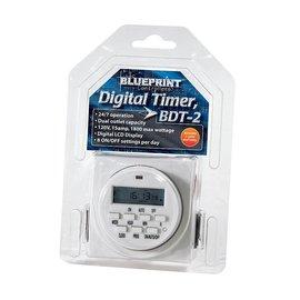 Blueprint Blueprint Controllers Digital Timer 120V, BDT-2