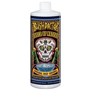 Fox Farm Bush Doctor Force of Nature Insect Repellent Concentrate, qt