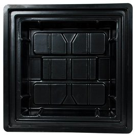 Black Flood Tray 2 x 2