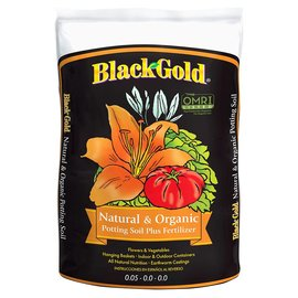 Black Gold SunGro Black Gold Natural & Organic Potting Soil, 2 cu ft