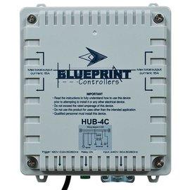 Blueprint Controllers HID Hub 4 Site, HUB-4C
