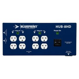 Blueprint Blueprint Controllers HID Hub 8 Site, HUB-8HD