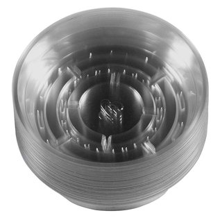 Gro Pro Gro Pro Premium Clear Plastic Saucer, 6 in