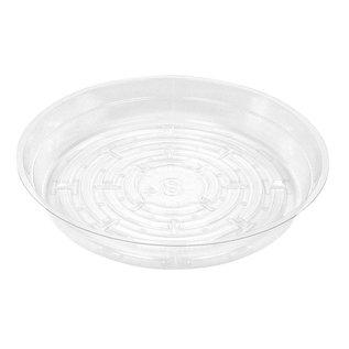 Gro Pro Gro Pro Premium Clear Plastic Saucer, 8 in
