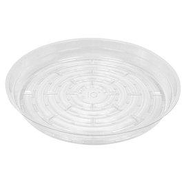 Gro Pro Gro Pro Premium Clear Plastic Saucer, 10