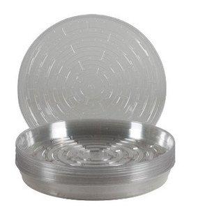 Gro Pro Gro Pro Premium Clear Plastic Saucer, 12