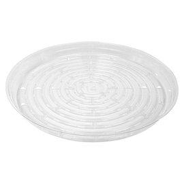 Clear Vinyl Saucer 14