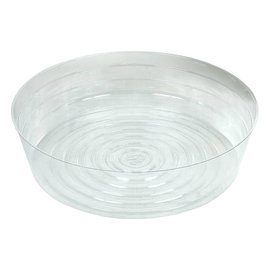 bond Clear Vinyl Saucer Deep, 14