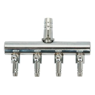 EcoPlus Air Manifold T Style 3/8 in Inlet - 4 Valve Outlet
