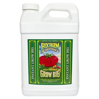 Fox Farm FoxFarm Grow Big Liquid Plant Food 2.5 gal