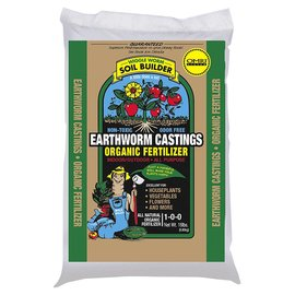 Wiggle Worm Wiggle Worm Soil Builder Always PURE Earthworm Castings, 15 lb