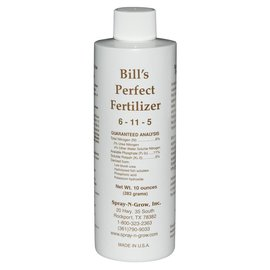 Spray-N-Grow Bills Perfect Fertilizer 8 oz