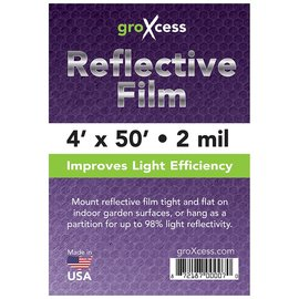 GroXcess Reflective Film 2 Mil, 50