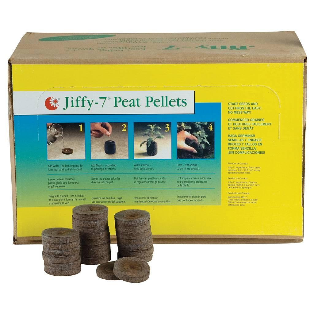 1000 PELLETS 36 MM JIFFY 7 PEAT PELLETS