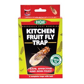 BioCare Kitchen Fruit Fly Trap 2 pack