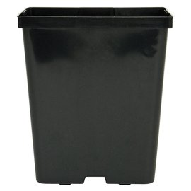 Kord Square Pot Black, 5.5
