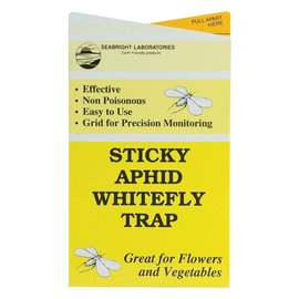 Seabright Laboratories Seabright Sticky Aphid/Whitefly Traps, 30 Pack