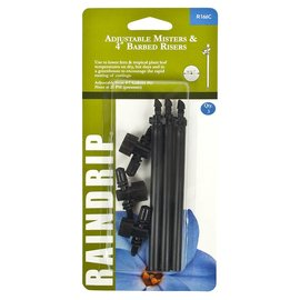 Raindrip Adjustable Mister and Riser Assembly