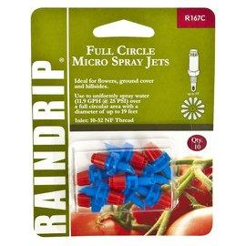 Raindrip Full Circle Stream Micro Spray Jets, Pack of 10