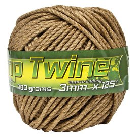 Smart Support Smart Support Hemp Twine, 3mm, 125'