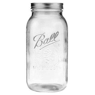 Ball Ball Jar Wide Mouth, 1/2 gal