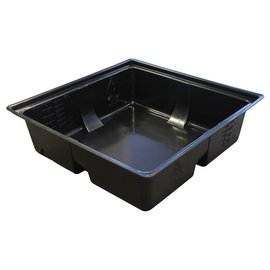 Botanicare Duralastics Reservoir Bottom Black, 75 gal